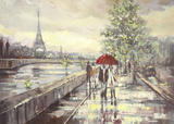 Paris Print by  Ewa
