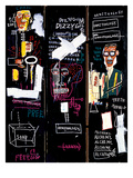 Tocadores de trompete, 1983 Impressão giclée por Jean-Michel Basquiat