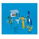 The Dingoes That Park Their Brains with Their Gum, 1988 Giclee-trykk av Jean-Michel Basquiat