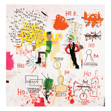 Riddle Me This, Batman, 1987 Giclee-trykk av Jean-Michel Basquiat