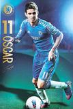 Oscar - Chelsea FC Plakater