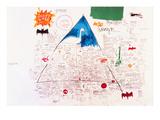 Untitled, 1986 Gicléedruk van Jean-Michel Basquiat
