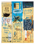Charles the First, 1982 Giclée-tryk af Jean-Michel Basquiat