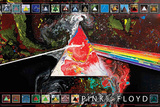 Pink Floyd - Dark Side of the Moon 40th Anniversary Pósters