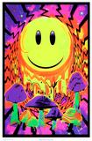 Have a Nice Trip Flocked Blacklight Poster Billeder