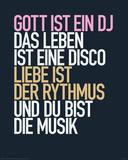Gott ist ein DJ Poster