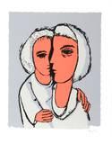 Siblings Collectable Print by  Lemsky