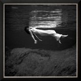 Weeki Wachee Spring, Florida Framed Photographic Print by Toni Frissell