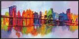 Abstrakt Manhattan Planscher av Brian Carter