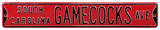 South Carolina Gamecocks Ave Steel Sign Wall Sign