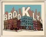 Brooklyn Poster von  Hero Design