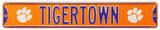Tigertown Clemson Logo Steel Sign Wall Sign