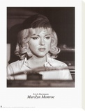Marilyn Monroe Stretched Canvas Print by Erich Hartmann
