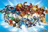 Skylanders Giants, personnages Posters