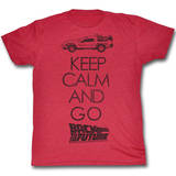 Back To The Future - Keep Calm T-skjorter