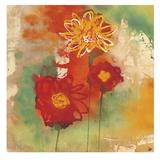 Sunflowers I Prints by Aunaray Carol Clusiau