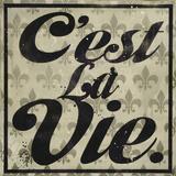 C'est La Vie Poster van Daniel Bombardier