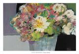 Flower Market Pôsters por Leslie Bernsen