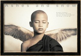 Winged Monk, Mexico City Poster di Gregory Colbert