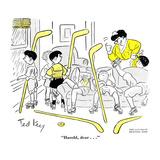 Hazel Cartoon Affischer av Ted Key