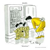 Hazel Cartoon Pósters por Ted Key