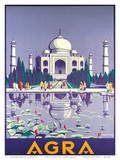Agra Taj Mahal c.1937 高品質プリント : Gobinda Mandal