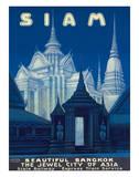 Siam c.1920s Impressão giclée por R. Wening
