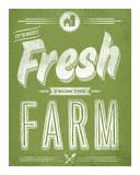 Fresh from the Farm Serigrafie von  Hero Design