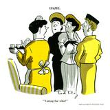 Hazel Cartoon Kunstdrucke von Ted Key
