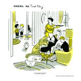 Hazel Cartoon Poster von Ted Key