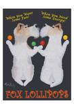 Fox Lolliopops Édition limitée par Ken Bailey
