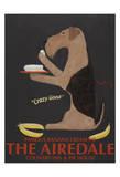 The Airedale Limitierte Auflage von Ken Bailey