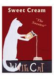 White Cat Cream Limitierte Auflage von Ken Bailey