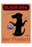 Black Dog Spa Products Limited Edition by Ken Bailey