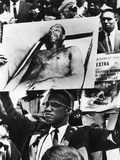 Malcom X - 1963 Photographic Print by Moneta Sleet Jr.