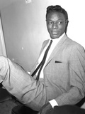 Nat King Cole - 1962 Photographic Print by Maurice Sorrell