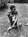 Nina Simone - 1971 Reproduction photographique par G. Marshall Wilson