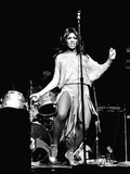 Tina Turner - 1974 Stretched Canvas Print by Norman Hunter