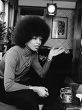 Angela Davis Reproduction photographique par G. Marshall Wilson