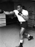 Sonny Liston - 1962 Reproduction photographique par G. Marshall Wilson
