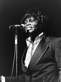 James Brown, Soul Bowl, - 1982 Photographic Print by Norman Hunter