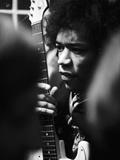 Jimi Hendrix -1968 Stampa fotografica di G. Marshall Wilson