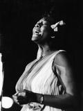 Dinah Washington, Dick Lane, Mort Sahl - 1963 Photographic Print by Isaac Sutton