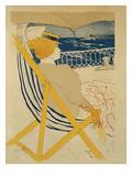 The Passenger in Cabin 54 - Yachting, 1895 Lámina giclée por Henri de Toulouse-Lautrec