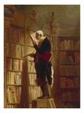 Der Buecherwurm (Detail), um 1850 Lámina giclée por Carl Spitzweg