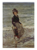 Girl at the Beach Gicléetryck av Lovis Corinth