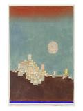 Chosen Site, 1927 (X.8) Giclee-trykk av Paul Klee