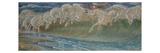 The Horses of Neptun, 1892 Lámina giclée por Crane, Walter