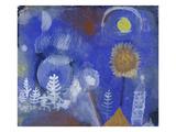 Landscape of the Past, 1918 Giclée-tryk af Paul Klee