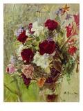 Bouquet of Flowers, 1896 Giclée-Druck von Max Slevogt